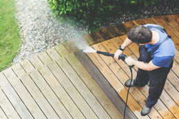 deck pressure cleaning costs
